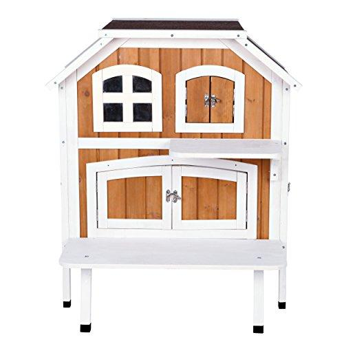 TRIXIE Pet Products 2-Story Cat Cottage