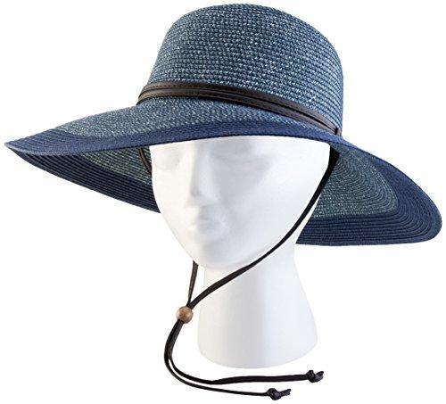 442Gb Wide Hat Grey Blue