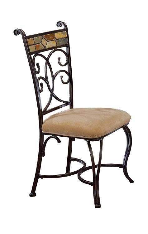 Hillsdale Furniture Pompeii Caster Dining Chairs - Set of 2
