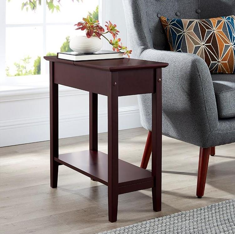Roxy Flip Top Chairside Table by Naomi Home