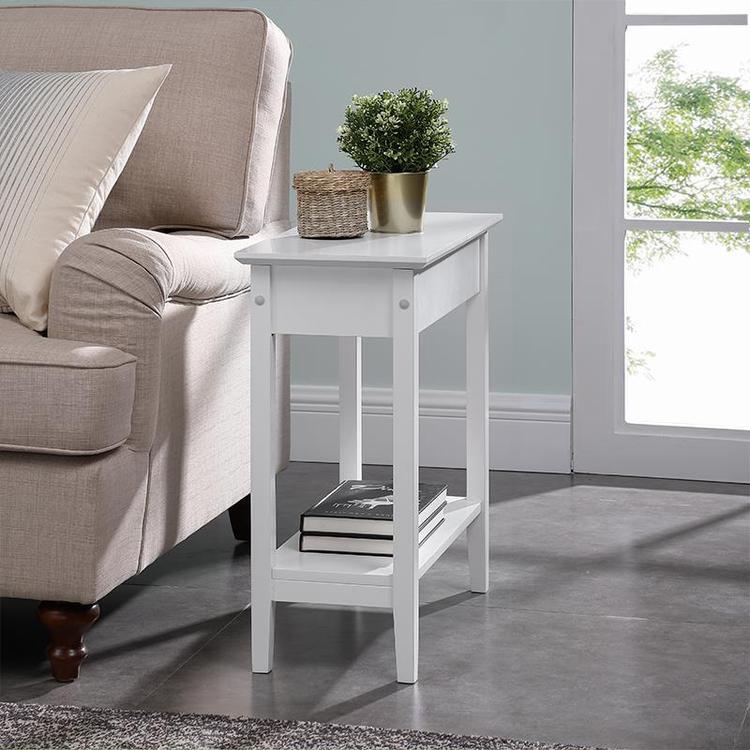 Naomi Home Roxy Flip Top Chairside Table