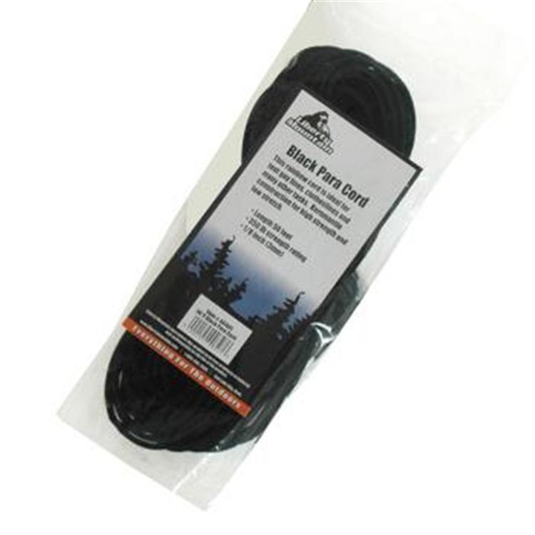 Liberty Mountain Black Para-Cord
