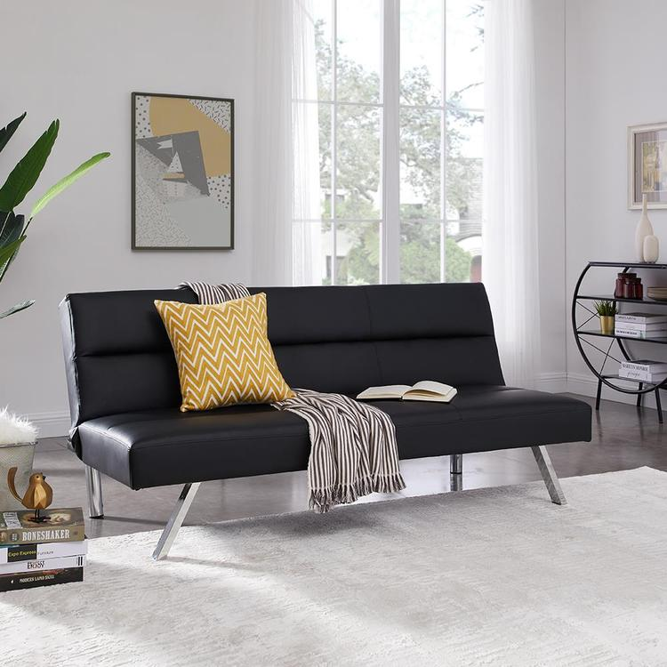 Naomi Home Zoe Futon Sofa [Item # 44811]