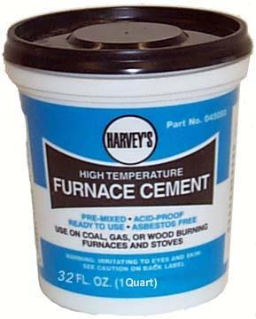 045105 Furnace Cement Quart