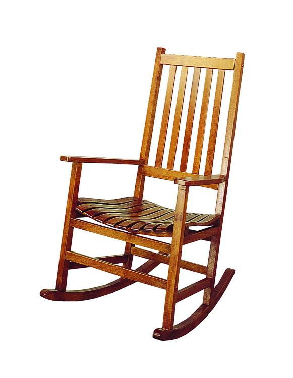 Coaster Traditional Wood Rocking Chair