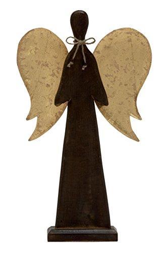 Beautiful Wood Metal Angel