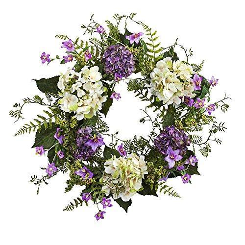 24'' Hydrangea Berry Wreath