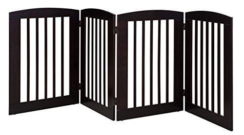 Ruffluv 4 Panel Expansion Pet Gate - Large - 36