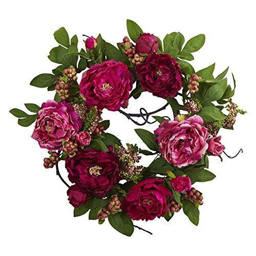 20'' Peony & Berry Wreath