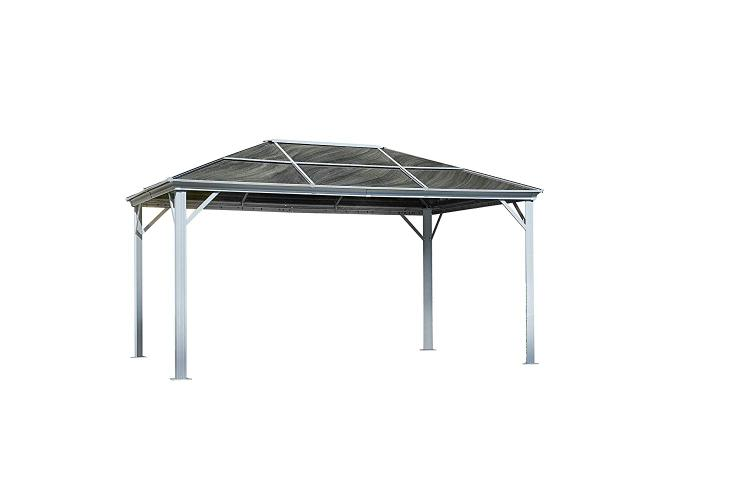 Gazebo Penguin Marseille 14 Ft. x 10 Ft. D Aluminum Patio Gazebo