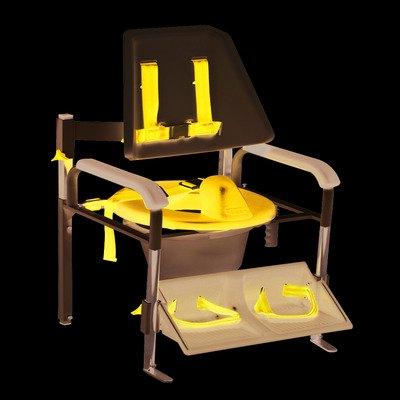 FEI FEI Positioning commode system, high back, large