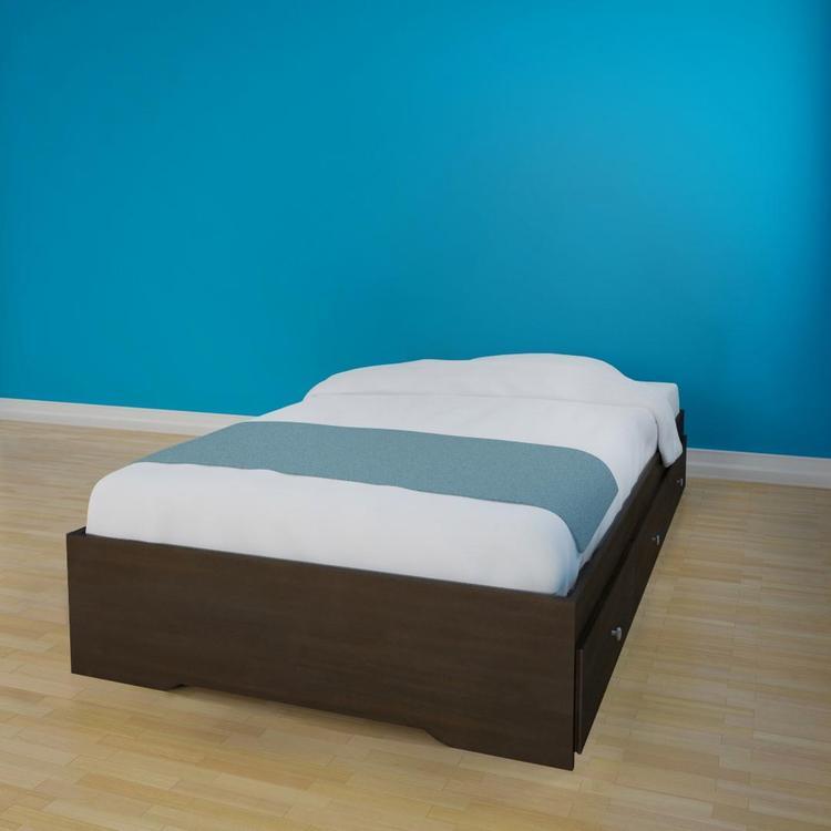 Pocono Twin Size Storage Bed 4600 from Nexera, Espresso