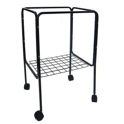 4614 Stand for Cage size 16x16 and 16x14, Black
