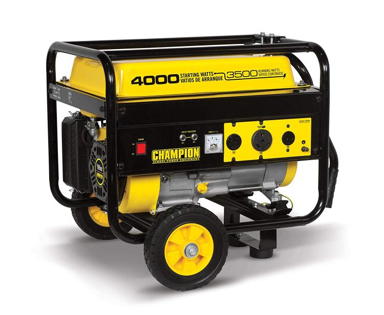 Champion 3500/4000W 49-State w/wheel kit