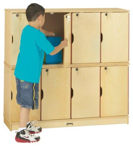 Jonti-Craft Stacking Lockable Lockers - Double Stack
