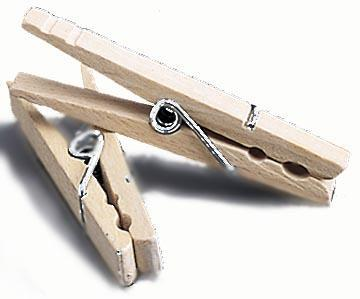 4700 Clothespins Wd 50Ct