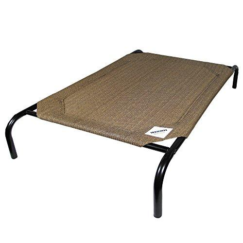 Coolaroo Elevated Pet Bed Small Nutmeg