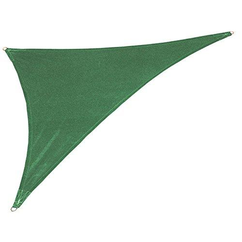Coolaroo Coolhaven Shade Sail Right Triangle 15ftx12ftx9ft Heritage Green