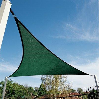 Coolaroo Coolhaven Shade Sail Triangle 18ft Heritage Green