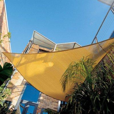 Coolaroo Coolhaven Shade Sail Triangle 18ft Sahara