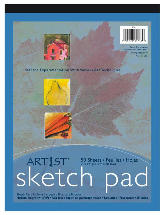 Pacon 4746 Sketch Pad 9X12