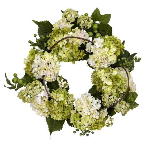 Nearly Natural 22? Hydrangea Wreath