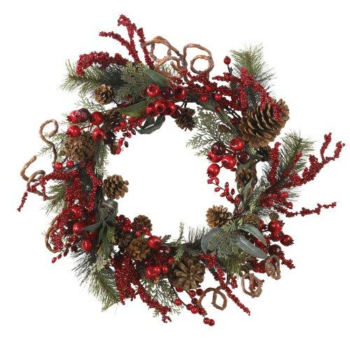 Nearly Natural 24? Assorted Berry Wreath