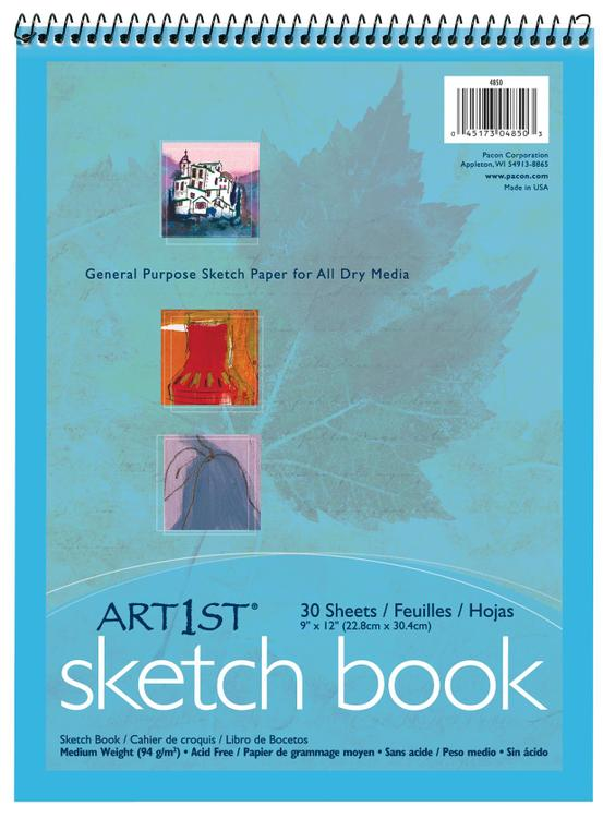 4850 Sketch Book 9X12