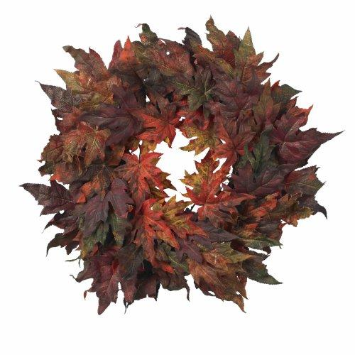 Nearly Natural 30? Maple Leaf Wreath