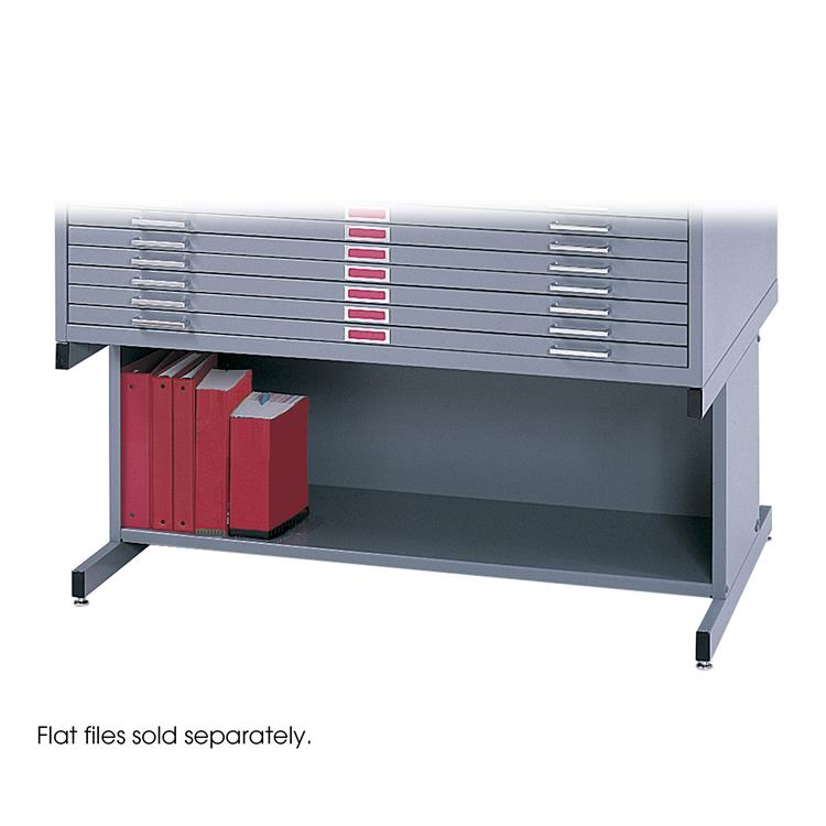 Flat File High Base for 4996 and 4986, Steel