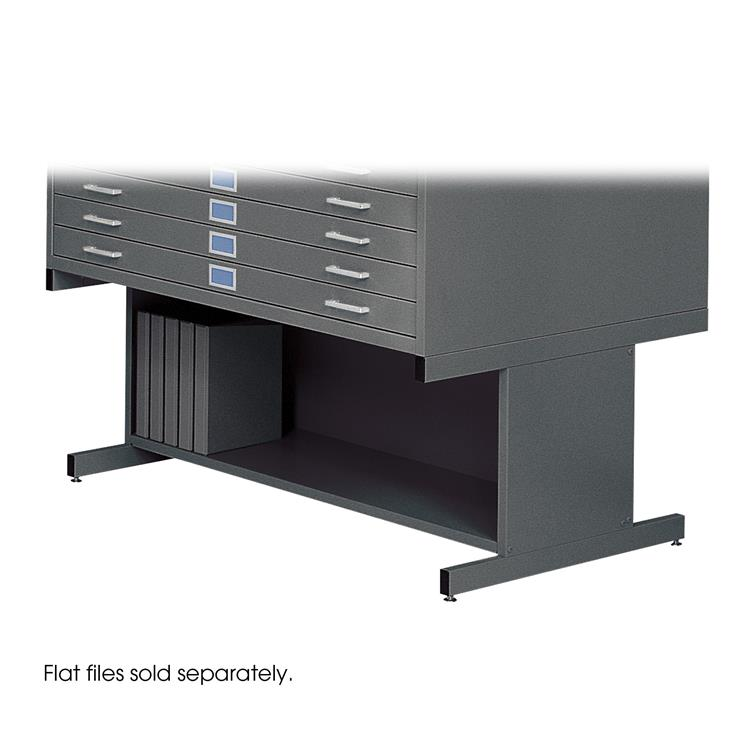 Flat File High Base for 4998, Steel