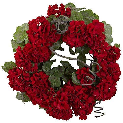 17? Geranium Wreath