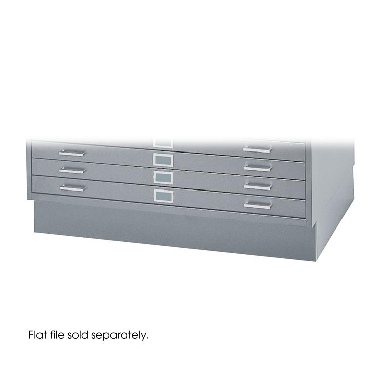 Flat File Closed Base for 4994, Steel