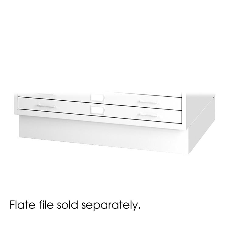 Flat File Closed Base for 4998, Steel