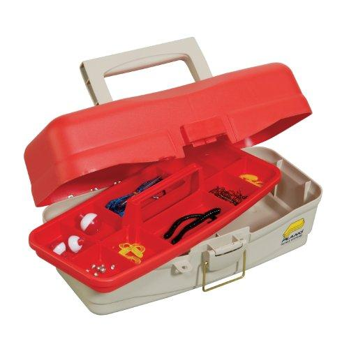 Tackle Box, Youth Starter Kit, Red/Beige