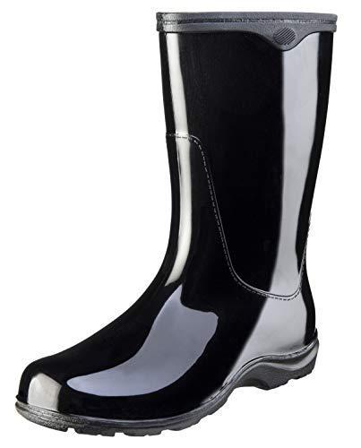 5000Bk08 Tallboot Size 8 Black