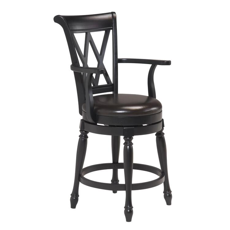 Home Styles Traditional Swivel Bar Stool