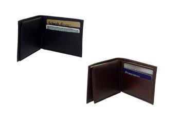 Amerileather Leather Bi Fold Wallet