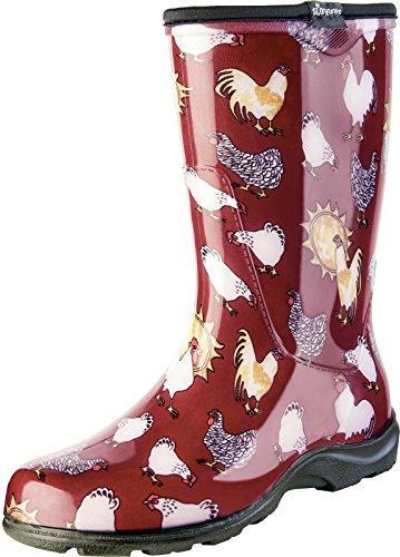 5016Cbr08 Grdn Boot Chkn Sz 8