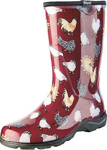5016Cbr10 Boot Chkn Red Sz 10