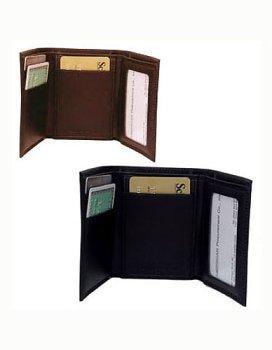 Amerileather Leather Tri Fold Wallet