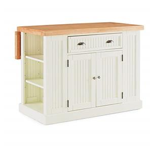 Nantucket Solid Wood Top Kitchen Island