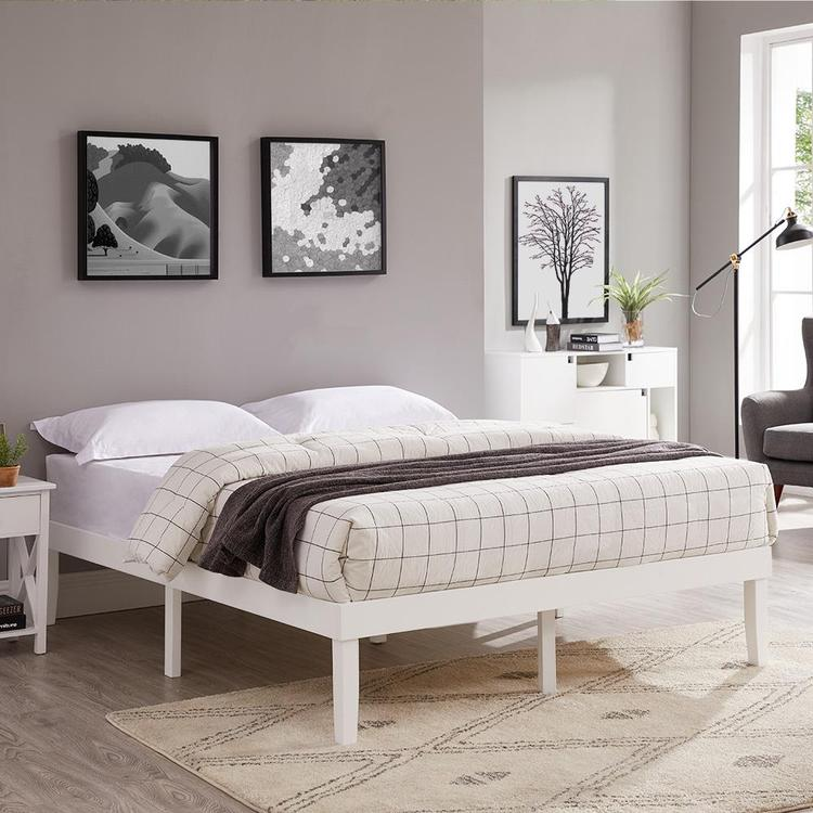 Naomi Home Lize Wood Platform Bed
