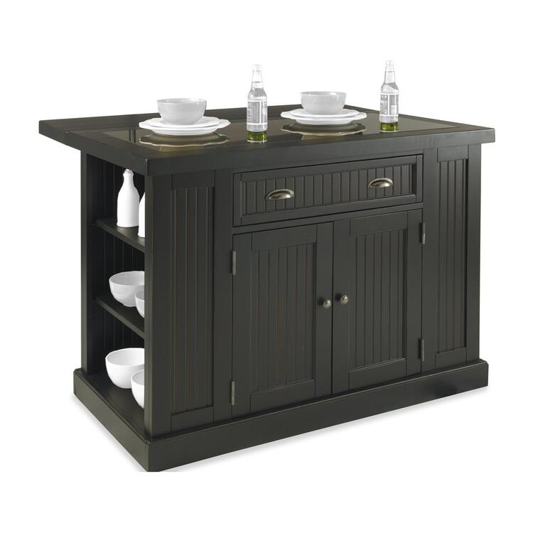 Home Styles Nantucket Kitchen Island Distressed Finish