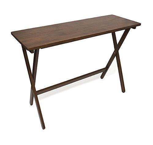 Folding Buffet Table - Walnut finish
