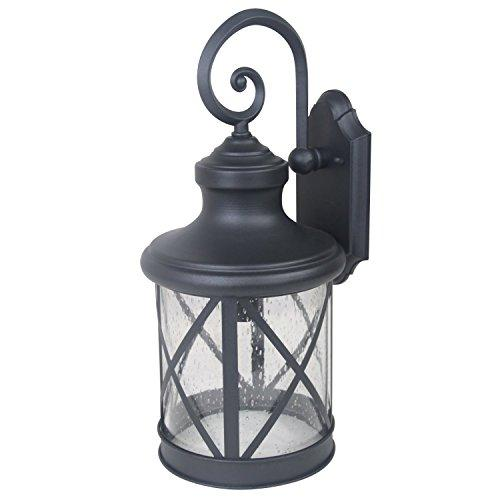 One Exterior Sconce