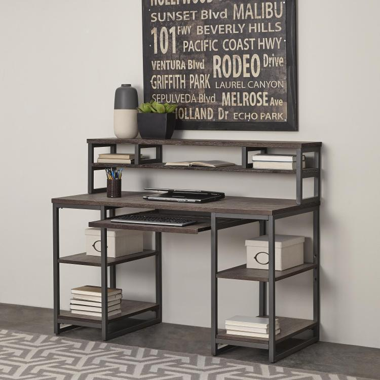 Home Styles Barnside Metro Pedestal Desk