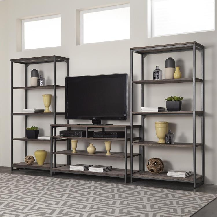 Home Styles Barnside Metro 3PC Entertainment Center
