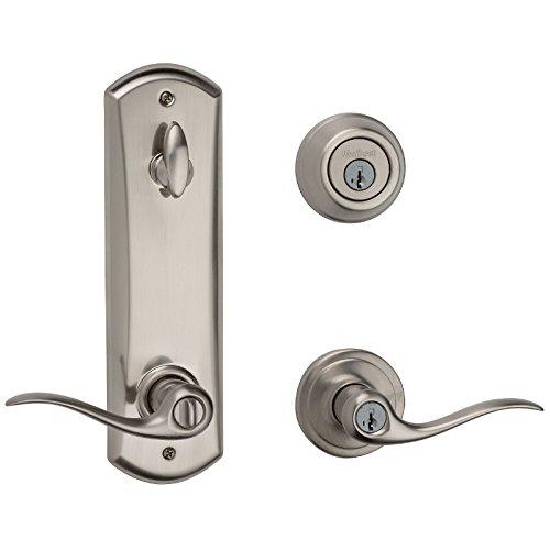 Kwikset 506TNL-15 Tustin Interconnected Entry Door Lock Satin Nickel Finish [Item # 506TNL-15]