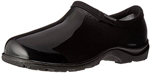 5100Bk08 Garden Shoe Black 8